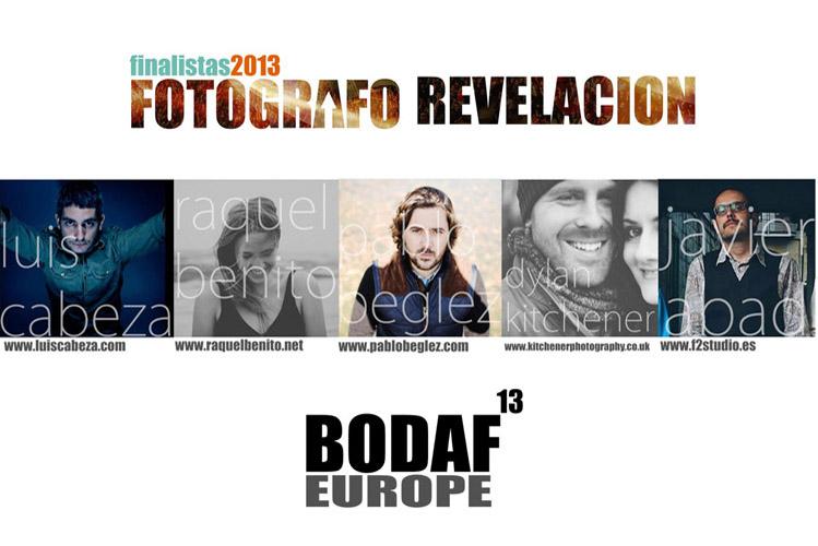Premio al fotógrafo revelación del año y la experiencia BodaF