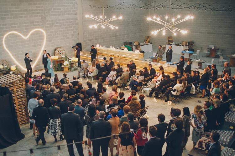 Bego + Sergio: La boda industrial