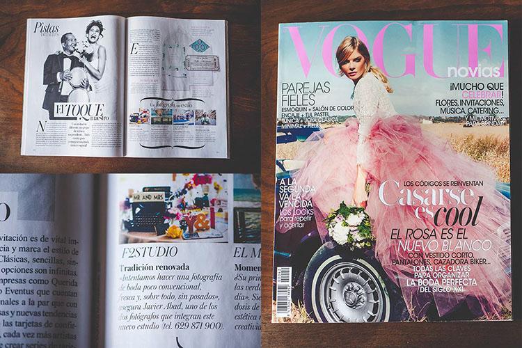 F2studio en Vogue Novias Otoño-Invierno