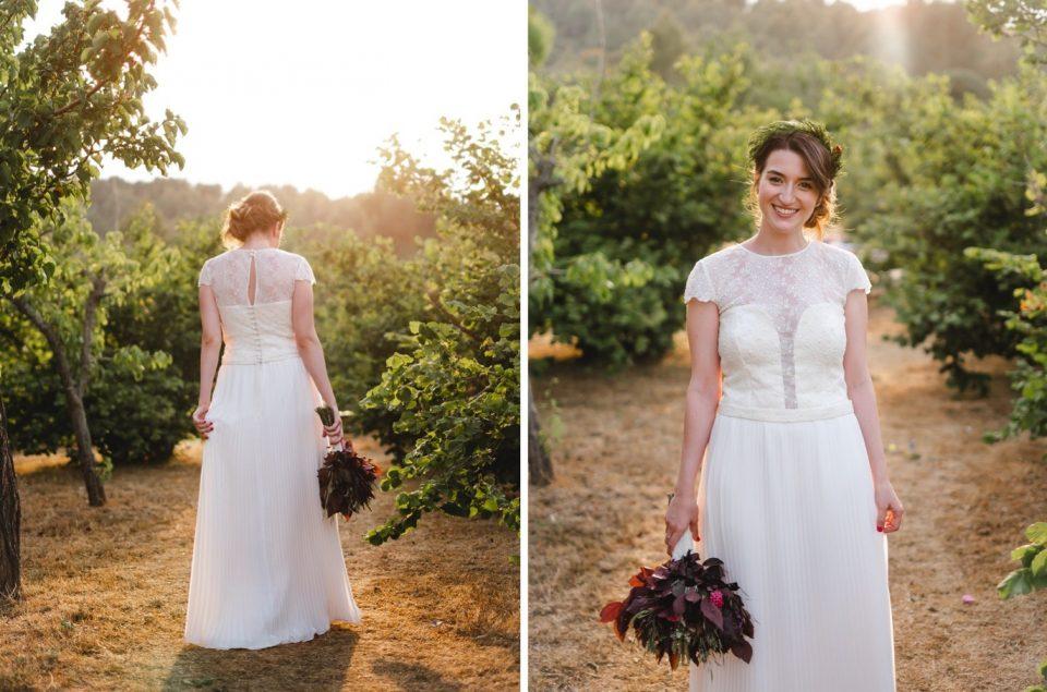 vestido de novia boda en LAvellana