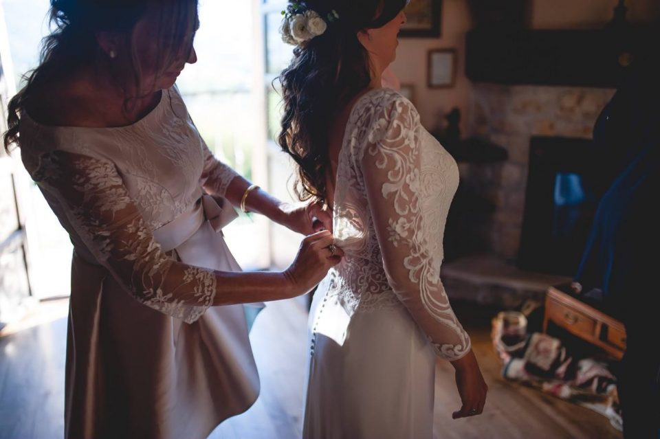detalles vestido de novias