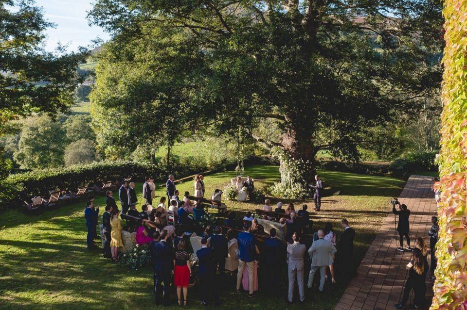 boda con ceremonia civil en asturias