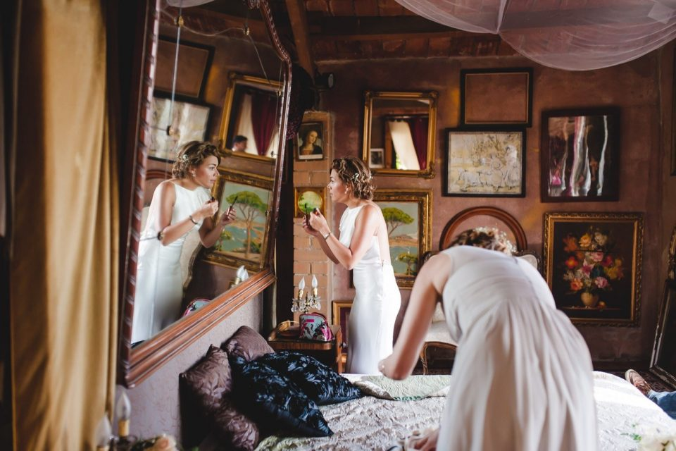 preparativos novia