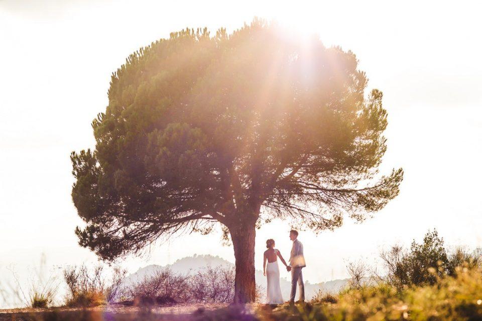 boda íntima en Cataluña