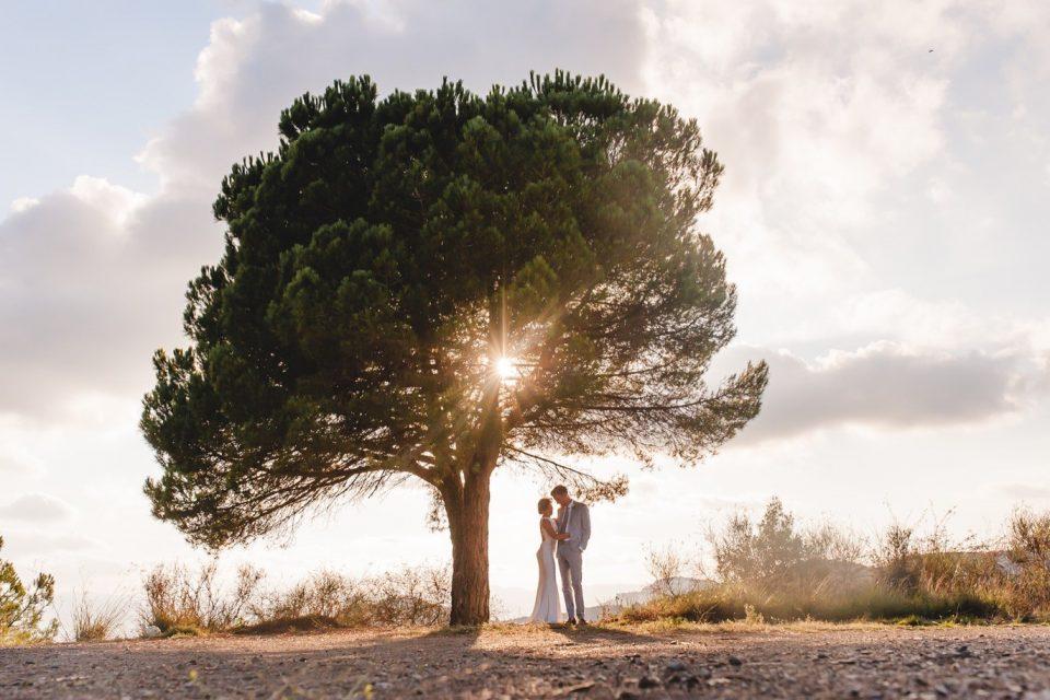 retratos novios boda en Cataluña