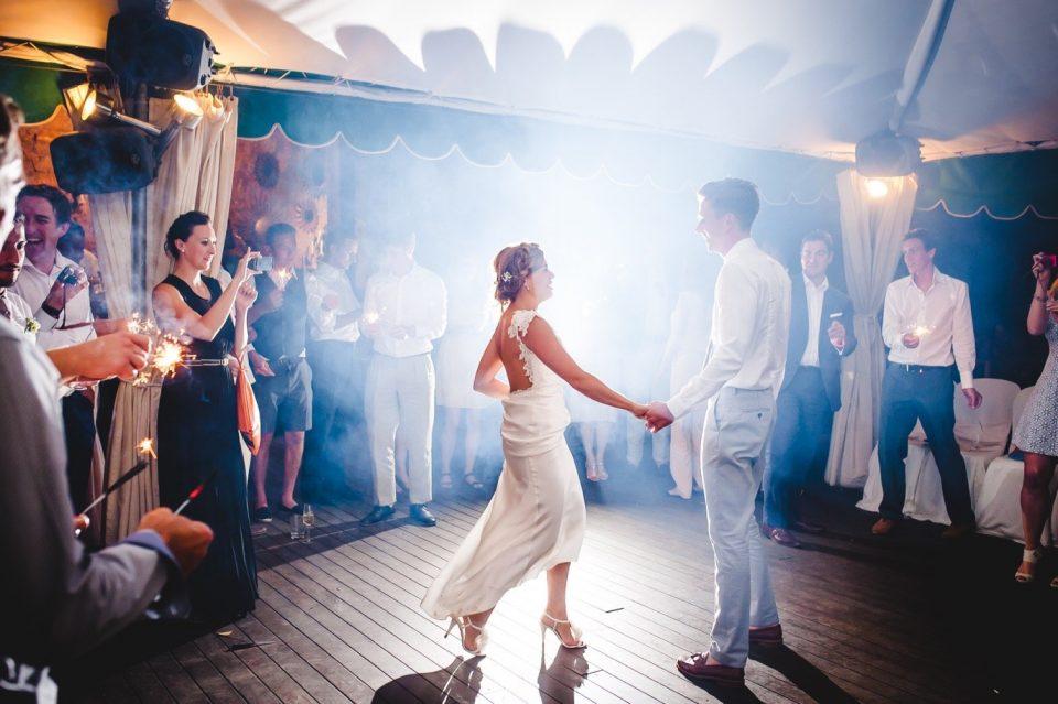 Baile en una boda en Cataluña