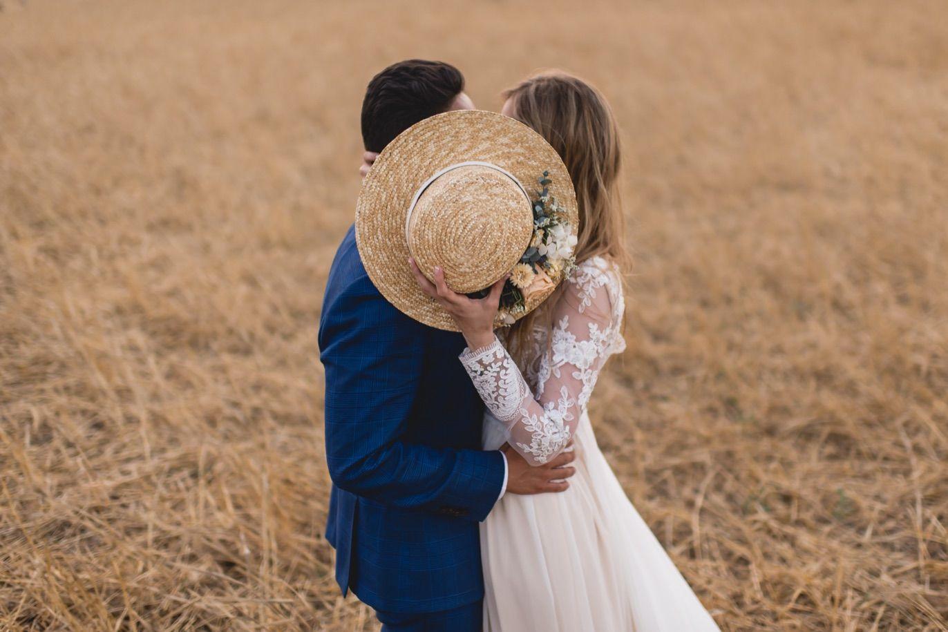 bride's headdress