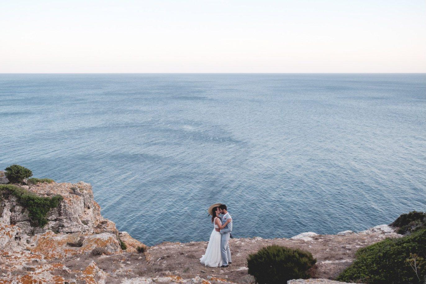 boda acantilado menorca