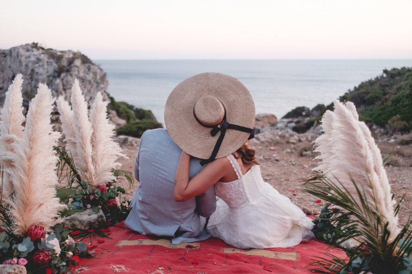 boda intima en menorca