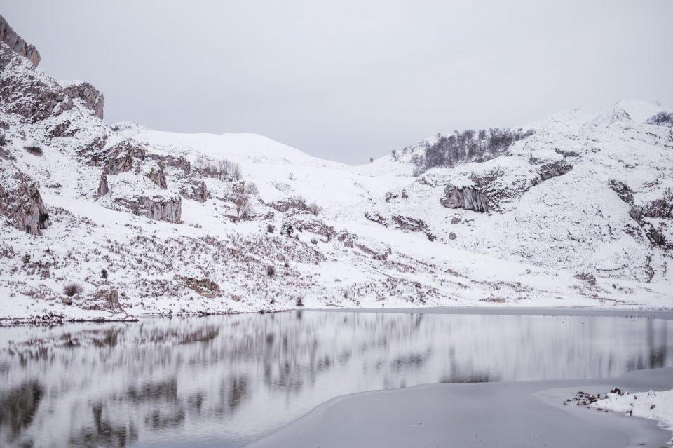 winter in Asturias