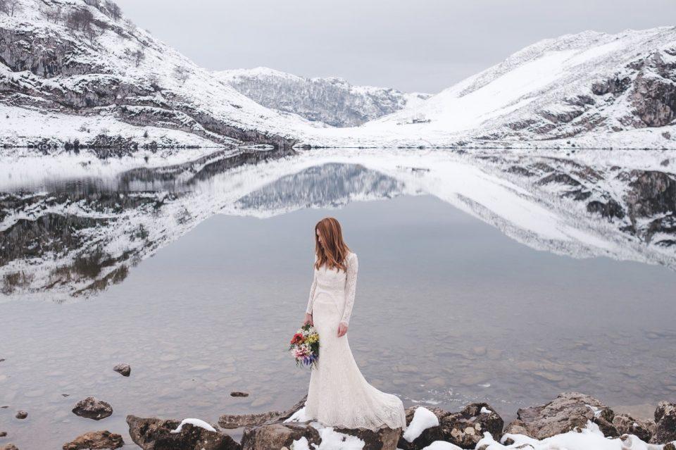 mountain weddings in winter asturias
