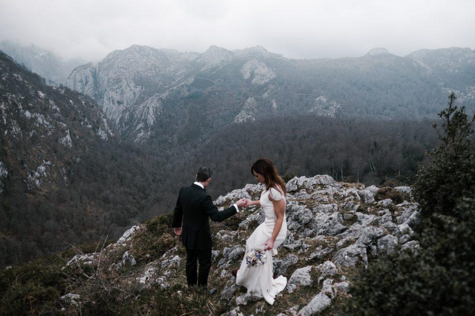 Boda en la naturaleza en Asturias